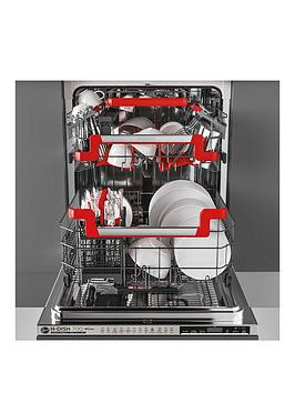 Hoover   H-Dish 700 Hdin 4S613Ps-80 60Cm Wifi Integrated Dishwasher, 16-Pplace Settings, A+ - Steel Smooth Touch Display - Dishwasher Only