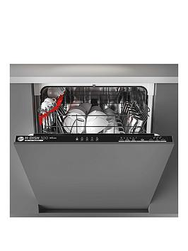 Hoover   H-Dish 300 Hdin 2L360Pb-80 60Cm Wifi Integrated Dishwasher, 13-Place Settings. A++ - Black Trim - Dishwasher Only