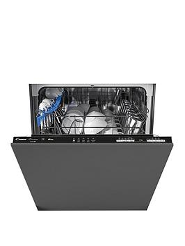 Candy   Cdin 1L380Pb-80 Integrated Wifi 60 Cm Dishwasher, 13 Place Settings. A+, Black Trim - Dishwasher Only