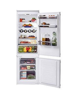 Hoover   H-Fridge 300 Hbbs 100 Uk Built-In 70/30 Split Fridge Freezer, 190/60 Litres - White - Fridge Freezer Only