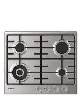 Hoover Hoover H-Hob 300 Gas Hhw6Bf4Mx 60 Cm Gas Hob, 4 Burners, Front  ... Picture