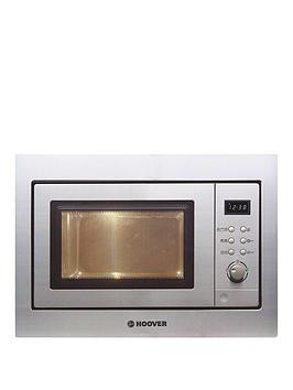 Hoover   H-Microwave 100 Hm20Gx Integrated 20L Microwave With Grill - Stainless Steel - Microwave Only