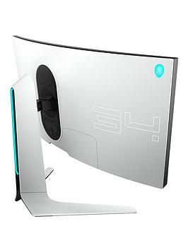 Alienware   Aw3420Dw 34 Inch Wqhd (3440X1440) 1900R Curved Gaming Monitor - 21:9, Ips, 2Ms, 120Hz, 98% Dci-P3, Nvidia G-Sync, Alienfx Lighting, 3 Year Warranty