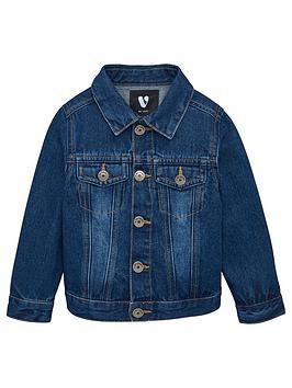 V by Very V By Very Boys Denim Jacket - Blue Picture