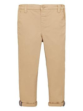 V by Very V By Very Boys Stretch Chino Trousers - Stone Picture