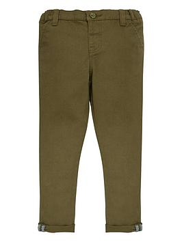 V by Very V By Very Boys Stretch Chino Trousers - Khaki Picture