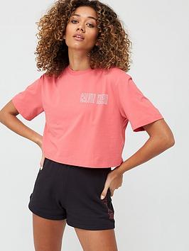 Calvin Klein Performance Calvin Klein Performance Cropped Short Sleeve  ... Picture