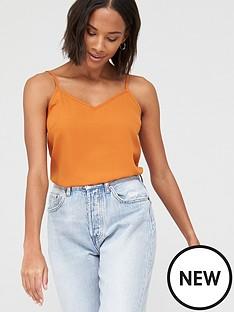 v-by-very-essential-woven-cami-orange