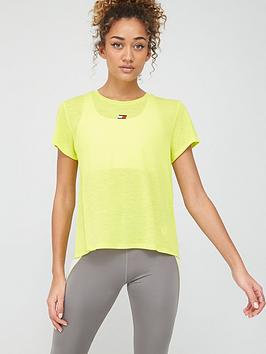 Tommy Hilfiger Tommy Hilfiger Performance Lbr Top - Yellow Picture