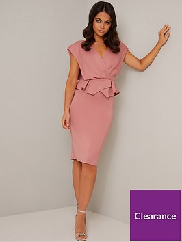 chi-chi-london-petite-saffie-dress-mink