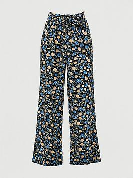 V by Very V By Very Linen Printed Cullotte Trouser Picture