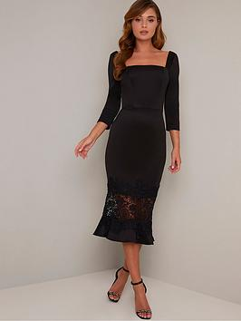 chi chi london Chi Chi London Furla Dress - Black Picture
