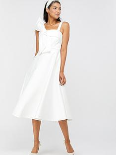 monsoon-monsoon-carrie-bridal-satin-bow-midi-dress
