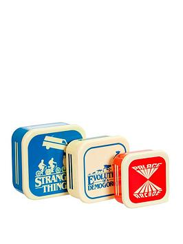 Very Stranger Things Plastic Storage Set Picture