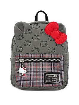 Very Loungefly Hello Kitty Faux Leather Mini Backpack Picture