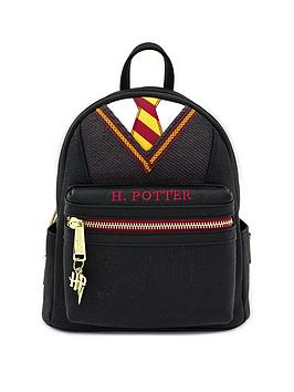 Harry Potter Harry Potter Loungefly Harry Potter Faux Leather Mini Backpack Picture