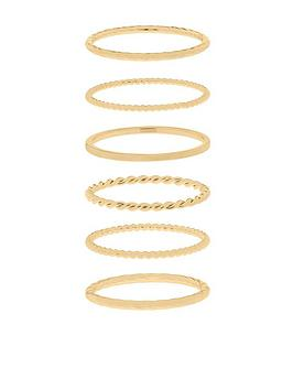 Accessorize Accessorize Z 6X Styling Ring Stack Picture