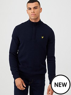 lyle-scott-14-zip-tipped-funnel-neck