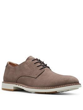 Clarks Clarks Un Elott Lace Up Shoes - Taupe Picture