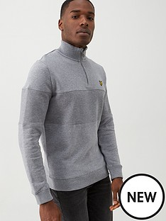 lyle-scott-contrast-panel-funnel-neck