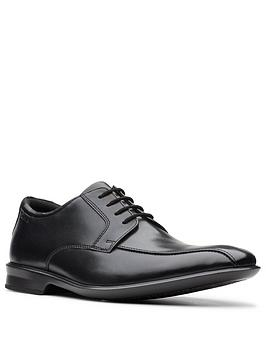 Clarks Clarks Bensley Run Lace Up Shoe - Black Picture