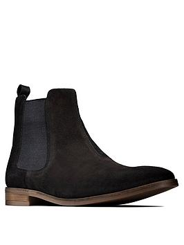 Clarks Clarks Stanford Top Boots - Black Picture