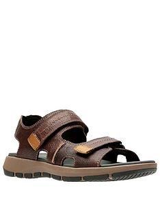clarks-brixby-shore-sandals-dark-brown