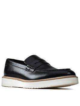 Clarks Clarks Ernest Free Slip On Shoes - Black Picture