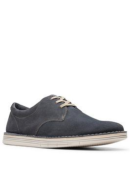 Clarks Clarks Forge Vibe Lace Up Shoes - Blue Picture