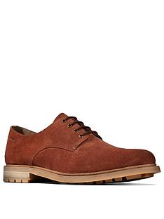 clarks-foxwell-hall-lace-up-shoes-tan