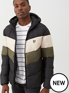 lyle-scott-colour-block-padded-jacket