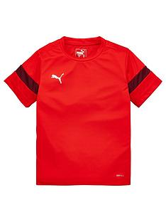 puma-junior-football-tee-red