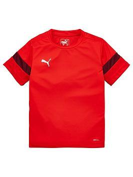 Puma Puma Junior Football Tee - Red Picture