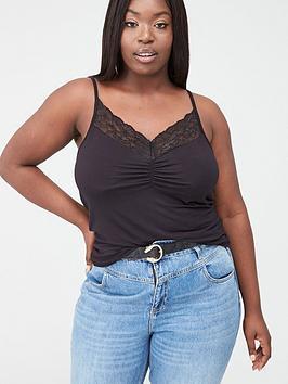 Junarose Junarose Lace Vest - Black Picture
