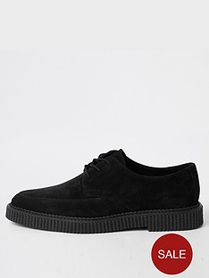 river-island-creeper-hybrid-lace-up