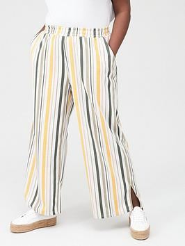 Junarose Junarose Magali Striped Casual Trousers - Multi Picture
