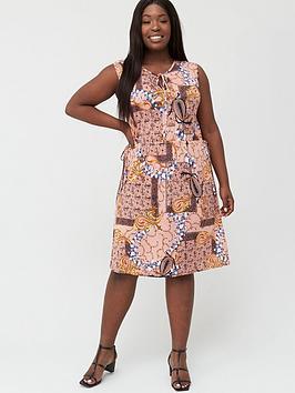 Junarose Junarose Curve Tofte Sleeveless Dress - Multi Picture