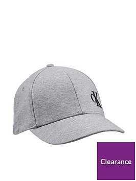 calvin-klein-jeans-childrens-monogram-baseball-cap-grey