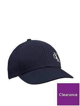 calvin-klein-jeans-childrens-monogram-baseball-cap-navy