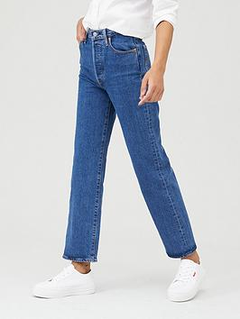 Levi's Levi'S Ribcage Straight Ankle Jeans - Blue Picture