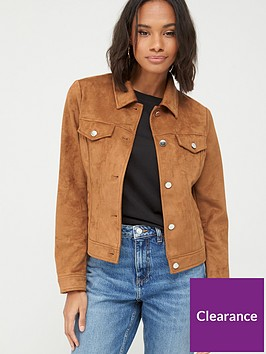 v-by-very-suedette-western-jacket-tan