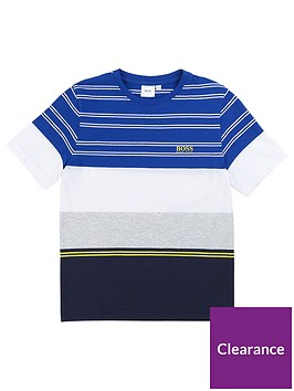 boss-boys-short-sleeve-stripe-block-t-shirt-blue