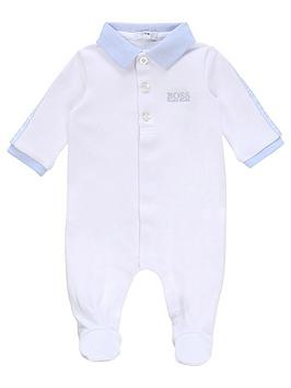 Boss   Baby Boys Classic Polo All In One - White