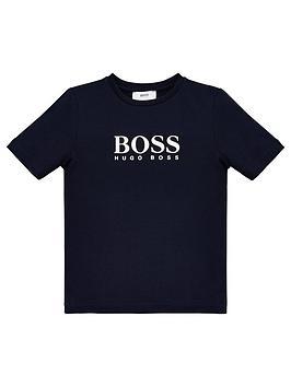 boss-boys-classic-short-sleeve-large-logo-t-shirt-navy