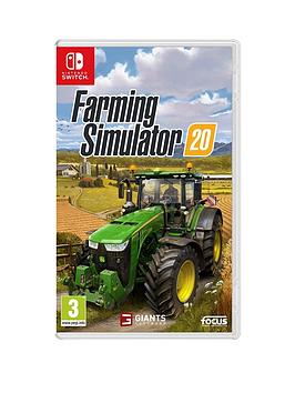Nintendo Switch   Farming Simulator 2020 - Switch