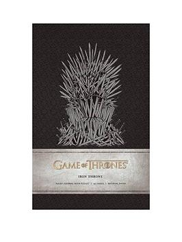 Very  Game Of Thrones Iron Throne Journal