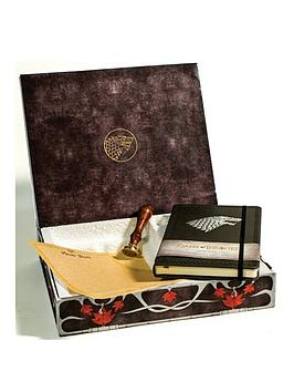 Game Of Thrones House Stark Deluxe Stationary Set