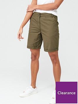 v-by-very-longer-length-poplin-short-khaki