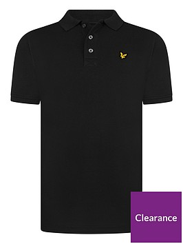 lyle-scott-boys-classic-short-sleeve-polo-shirt-black