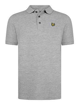 Lyle & Scott Lyle & Scott Boys Classic Short Sleeve Polo Shirt - Grey Picture